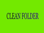 cleanfolder